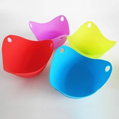 FDS Set of 2 Silicone Pancake Egg Poacher Cook Poach Pods Kitchen Cookware Bakeware Randomly color ** Read more  at the image link.