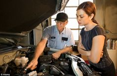 One important car maintenance task that women should definitely know how to do…