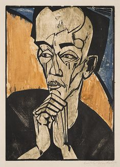 DAVID BOWIE Collection (Sotheby's auction) German expressionist piece by Erich Heckel, worth and one of 11 prints by. Harlem Renaissance, David Bowie, Art Dégénéré, Städel Museum, Modern Art, Contemporary Art, Degenerate Art, Ernst Ludwig Kirchner, Art Eras