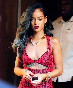 Rihanna Silver Hair