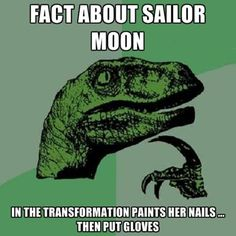 "Great Anime Shareables and Memes for Pinterest, Tumblr, Facebook and Twitter: ""Fact About Sailor Moon"" Sailor Moon Meme http://anime.about.com/od/animeprimer/ig/Great-Anime-Shareables-and-Memes-for-Pinterest-Tumblr-Facebook-and-Twitter/index.htm"