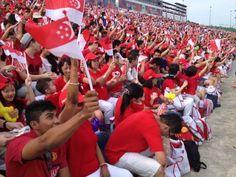Wishing Singapore a joyous National Day! Happy 48th birthday!