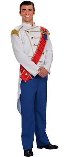 Prince Charming Costume. Ohhhh babe!!!...... Let's be Cinderella and prince charming  this year!! :-D