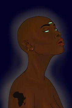 New Design Alert! Go get my new design at Tanzaniteart's Art Shop now! Black Art Painting, Hippie Painting, Painting Of Girl, Black Love Art, Black Girl Art, Small Canvas Art, Diy Canvas Art, Les Aliens, Grunge Art