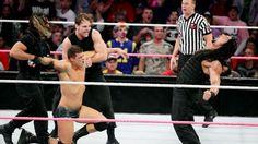 Raw 10/14/13: Cody Rhodes & Goldust vs The Shield - WWE Tag Team Championship Match