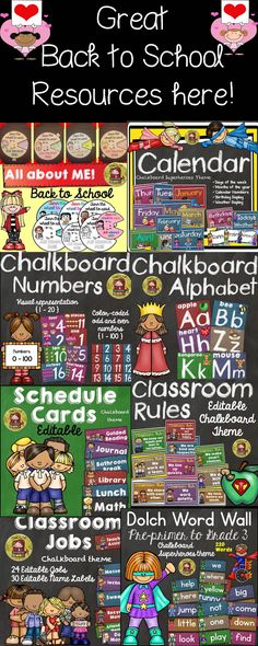 See fantastic 'Back To School' resources here! https://www.teacherspayteachers.com/Store/Teachtotell/Category/BACK-TO-SCHOOL