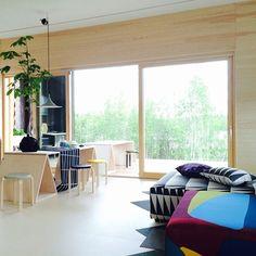 Marimekko at Jyväskylä Housing Fair. Architecture by Skammi. #marimekko #asuntomessut
