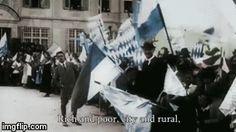 Young Hitler in Garmisch in 1919