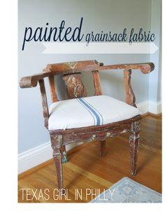 craft paint, tutorials, texa girl, fabric tutori, painter tape, stapl gun, blue craft, brush, cotton fabric