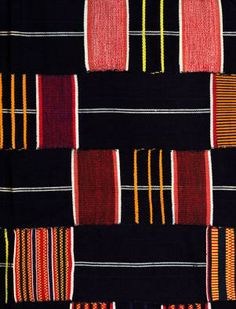 Ewe cloth  From Ghana/West Africa