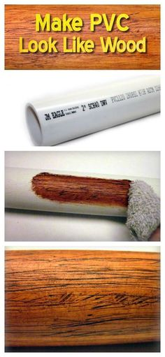 Make PVC Look Like Wood #woodworkingideas #WoodworkCrafting #woodworkingplans