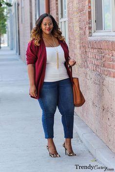Fall Plus Size Fashion - TrendyCurvy
