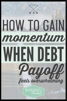 When your debt feels overwhelming, these tips can give you motivation and make it easier to pay off each bill. Saving Money Quotes, Money Saving Tips, Money Tips, Budgeting Finances, Budgeting Tips, Money Plan, Budgeting Worksheets, Thing 1, Debt Payoff
