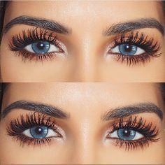 c0777875e5d @farahdhukai real lashes 😱❤ so amazing! #vegas_nay Dress Hairstyles,  Perfect