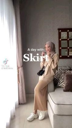 Hijab Casual, Ootd Hijab, Hijab Outfit, Muslim Fashion, Hijab Fashion, Indie Outfits, Casual Outfits, Korean Ootd, Hijab Ideas