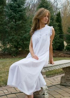 White Nightgown. Prefect for summer.