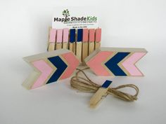 Hey, I found this really awesome Etsy listing at https://www.etsy.com/listing/291068383/pink-navy-blue-coral-arrow-art-display