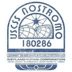 Nostromo Logo - Alien - Prometheus