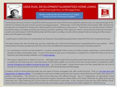 USDA Rural Development Renovation Tools for Home Buyers.  Join the Konversation @ our LinkedIn post.