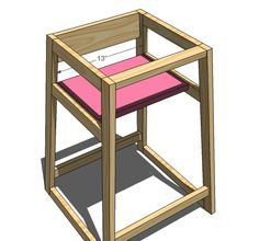 Ana White | Build a Restaurant High Chair | Free and Easy DIY Project and Furniture Plans