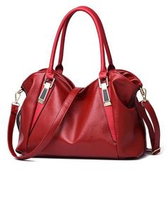83e5748a0c5d4 PU Leather Portable Handbags Shoulder Bag Office Ladies, Hobo Fashion,  Fashion Women, Vogue