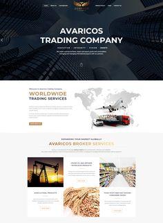 Εξαιρετικός Responsive σχεδιασμός, εύκολη και γρήγορη πλοήγηση και γρήγορη ταχύτητα φόρτωσης. Δείτε περισσότερα έργα στην σελίδα μας Fast Moving Consumer Goods, Crude Oil, Trading Company, Marketing, Studio, Studios