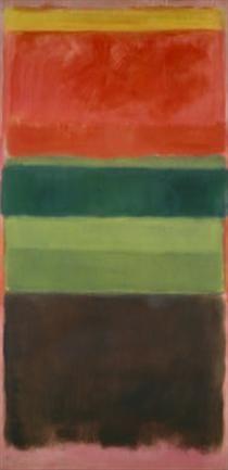 1) Mark Rothko 2) Untitled 3) 1949 4) Abstract Expressionism
