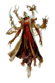 The flesh sculptors of the Dark Eldar create twisted, mutated henchmen to do the bidding of their Archon overlords. Warhammer 40k Dark Eldar, Eldar 40k, Warhammer Art, Warhammer 40000, Character Art, Character Design, Dark Elf, Sci Fi Characters, Geek Art