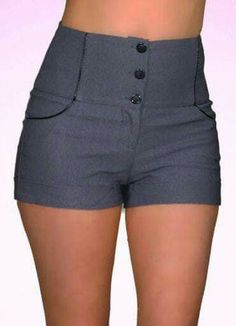 . New Outfits, Cool Outfits, Summer Outfits, Como Fazer Short, City Shorts, Look Short, Leather Shorts, Chor, Diy Clothing