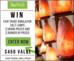 You may be wondering what is a Himalayan Salt lamp, or maybe you already know the benefits of a Himalayan salt lamp and just want one. Contest starts at 12 Noon on Saturday 4/21/18 and ends Sunday 4/29/18 at midnight. Winners picked the very next day. 4 lucky winners! https://topjunkies.com/win-a-free-himalayan-salt-lamp