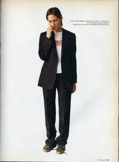 England's Dreaming, photographed by Corinne Day for The Face Aug93, styling by Melanie Ward