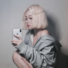 We provided more than free asian beauty, model sexy image galleries Pelo Ulzzang, Ulzzang Korean Girl, Cute Korean Girl, Asian Girl, Ulzzang Short Hair, Aesthetic People, Aesthetic Girl, Pretty People, Beautiful People