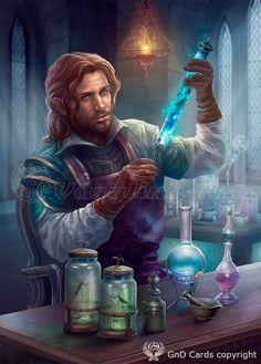 Alchemist- by Vasylina