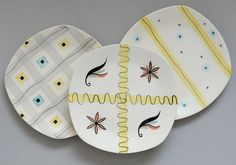 Jessie Tait sideplates for Midwinter by robmcrorie, via Flickr