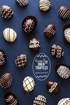4-Ingredient Easter Egg Oreo Truffles - Gimme Some Oven