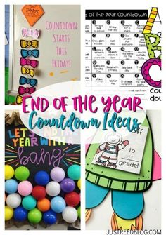 These end of the year countdown ideas are fun and easy to implement!  Find ideas for a fun alphabet end of the year countdown, plus grab a FREE countdown kite template!