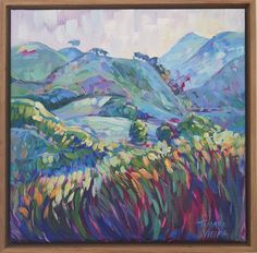 Buy The hills I love most, Oil painting by Tamara Vieira on Artfinder. Discover thousands of other original paintings, prints, sculptures and photography from independent artists. Paintings For Sale, Original Paintings, Oil Painting On Canvas, Wine Country, Impressionist, Lovers Art, No Time For Me, Buy Art, Sculptures