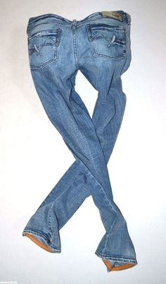 c0acb6c129f NEW Ladies DIESEL KYCUT 008BD low straight leg JEANS womans size W30 L32 uk  12