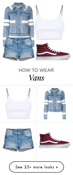 """outfit 78"" by lelanddlopez on Polyvore featuring Givenchy, Alexander Wang and Vans"