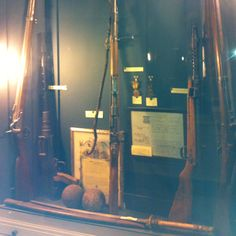 Meeting at newton city hall, took pictures of this historic guns