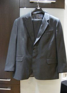 Kup mój przedmiot na #vintedpl http://www.vinted.pl/odziez-meska/garnitury/12074903-garnitur-meski-szary
