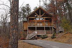 Pigeon Forge, TN: BEAR HEARTS - 1 Bedroom Log Cabin - Trapper's Ridge - Wears Valley Vacation Rental