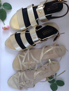 33eed1d066ee5d Shades of gold - summer sandals from topshop