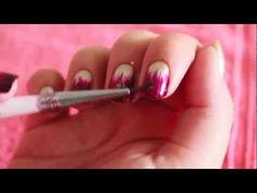 Ombré / Dip Dye Nails com pincel - Vídeo Tutorial