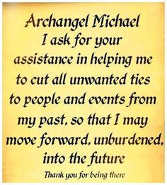 Cutting Cords with Archangel Micheal