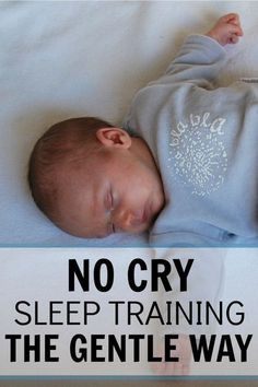 This really worked for my family! I'm just not into the cry it out options but I did want to teach my baby to sleep on her own. It took some consistency and patience but she has been sleeping great ever since! No Cry Sleep Training The Gentle Way