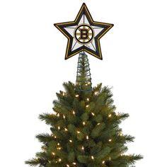 Boston Bruins Hockey Christmas Tree Topper - I want a blackhawks one!