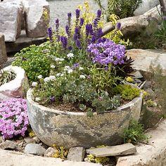 Terrain Antique Patina Low Bowl