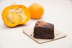 HALLOWEEN: MNB Choc Pumpkin & Walnut Brownie