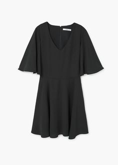 Fluted hem dress | MANGO